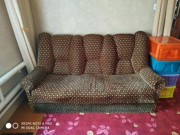 dva divan kresla в Кыргызстан: Продается мягкий диван б/у в хорошем состоянии