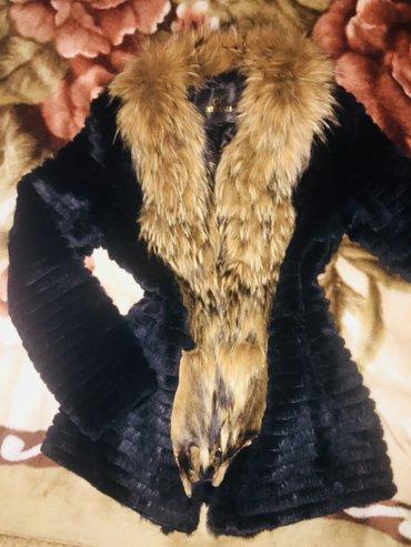 Продаю шубку из натурального меха, размер с, в идеальном состоянии в Бишкек