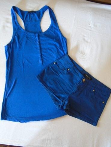 Kraljevsko-plavi-kombinezon-ucina - Srbija: Amisu, kraljevsko plavi šorts, veličine 36