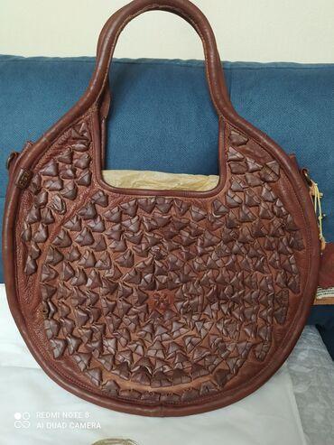 10673 объявлений | АКСЕССУАРЫ: Крутейшая сумка,кожа буйвола,Италия,ручная работа,в единственном
