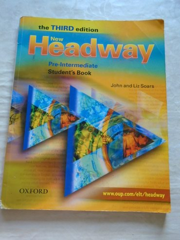 Udzbenik iz engleskog jezika, Headway Oxford za prvi i drugi razred - Beograd
