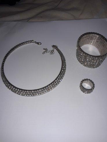 Komplet.ogrlica,prsten i narukvica - Nis