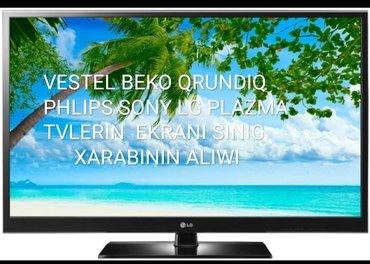 Sumqayıt şəhərində Lsd led Ekrani SINIG sağlam TELEVIZORLARIN ALIWI WATCAPPA MODELI