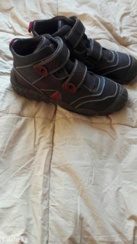 Мужские ботинки в Кыргызстан: Продаю почти новые деми ботинки. Кожаные. Производство Россия. Размер