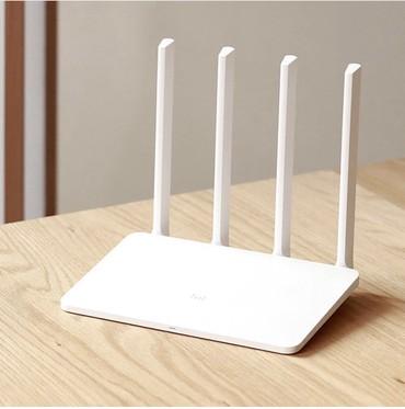 wi-router в Кыргызстан: Xiaomi Mi Wi-Fi Router 3 Компактный и стильный роутер может