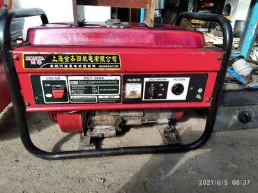 Продам генератор и компрессор цена за комплект 15500 сом
