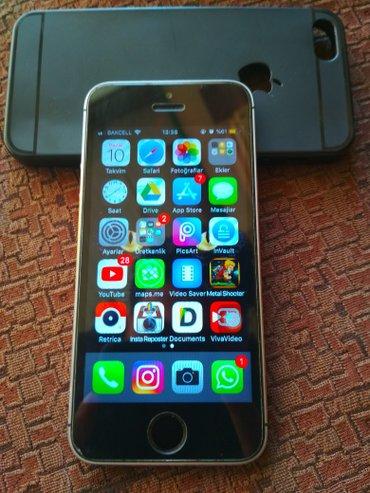 Bakı şəhərində IPhone 5s, 2 Ayın Telefonudur , Telefonda Cızıq Belə Yoxdur Ancaq Kabr