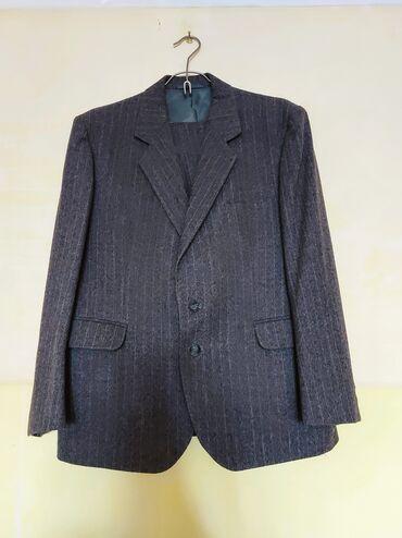 На продажу: - Мужской костюм из натуральной шерсти, надевали только на