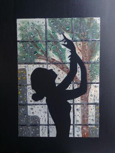 Ketan üzerinde,yagli boya istenilen sekillerin sifarisi Bu tablo elded