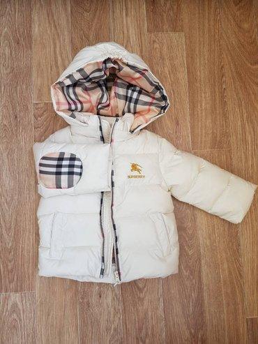 Супер стильная куртка burberry. отличное в Бишкек
