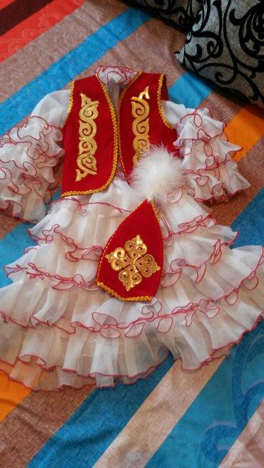 новый костюм ,ошиблись размером. до 4-5 годика.  в Бишкек