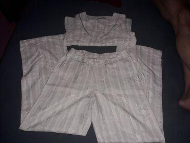| Irig: Divan komplet u bezSrebrnoj boji pantalone mogu da se koriguju oko