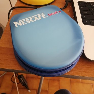 Nescafe CD holder. 24 discs capacity. Slightly damaged on the inside