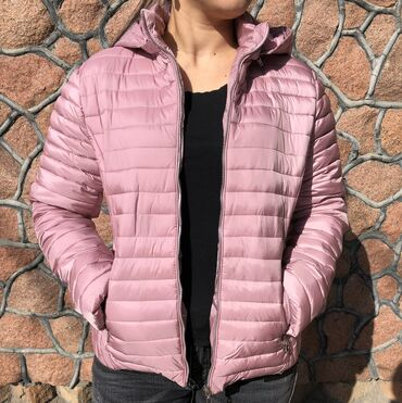 dubljonka s kapjushonom в Кыргызстан: Легкая куртка на осень Размер S L