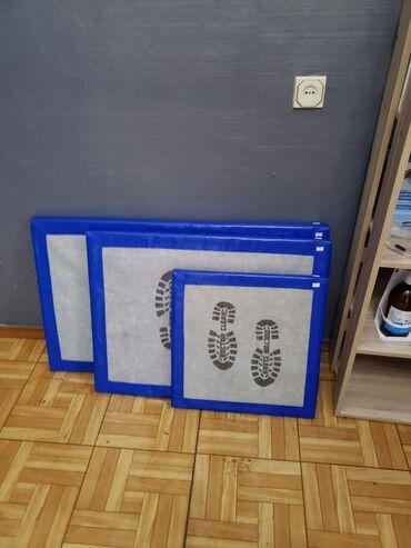Дизинфицируещие коврики для ног, в целях вашей безопасности и гигиены