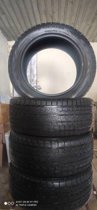 шины бур16 в Кыргызстан: Продаю зимний шины Yokohama 285/50R20  Состояние идеал  Пользовались т