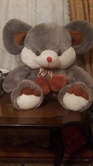 советская мягкая игрушка в Азербайджан: Мягкаябольшая игрушка-мышка