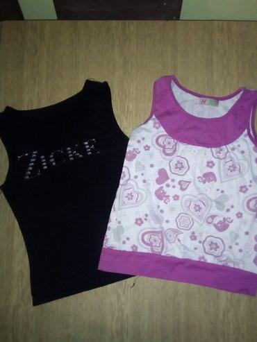 Dečiji Topići I Majice   Sid: Majcice za devojcice, velicina 10. Obe za 200 din