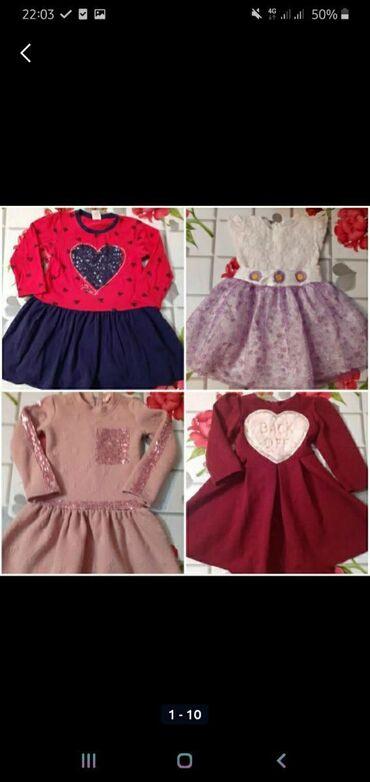 Платья для девочки 3-4-5 лет в зависимости от ребёнка,в хорошем