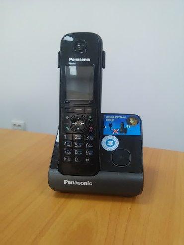 Телефон - Кыргызстан: Продаю радиотелефон Panasonic KX-TG8151CA· Производитель