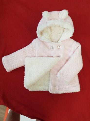 детская осенняя одежда в Кыргызстан: Детский кардиган на 6-9 мес (Англия). Очень теплый. Можно носить