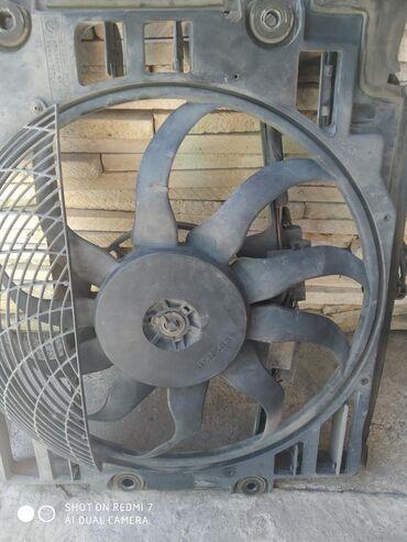 Вентилятор кондиционера на БМВ е 39