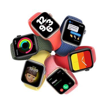 Серые Унисекс Наручные часы Apple
