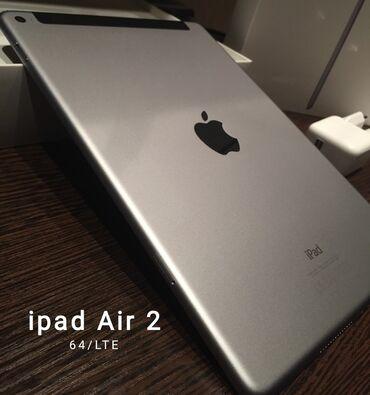 "Планшет Apple iPad Air 2 64gb LTE, Wi-Fi Экран 9.7"", 2048x1536 Бишкек"