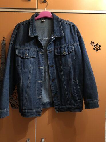 джинсовый корсет в Кыргызстан: Джинсовая куртка Размер:M