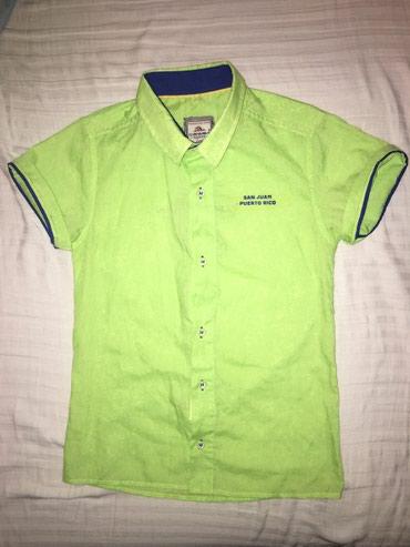Детские топы и рубашки в Кыргызстан: Рубашка. Размер 7 лет. Состояние отличное