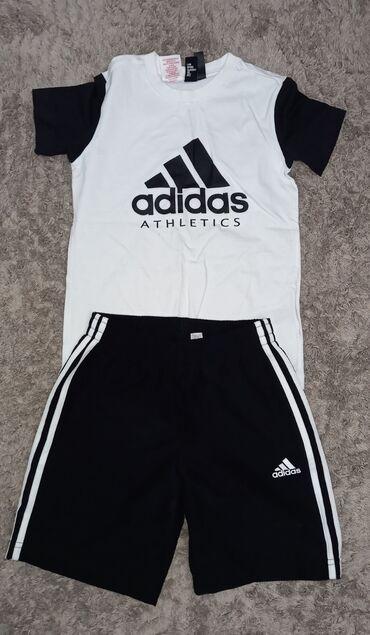 shtany messi adidas в Кыргызстан: Спортивный костюм Adidas  Возраст 9-10  Идеальное состояние