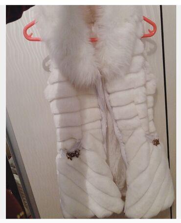 Жилетка зимняя одето один раз