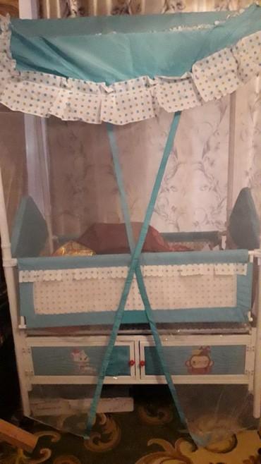 Продается кровать (манеж) детский новый ребенок на нем не спал,Как