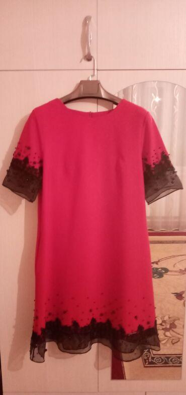 Женская одежда - Кок-Джар: Вечерние платья, состояние хорошее Красное-турецкое, цена:1550 Зелёно