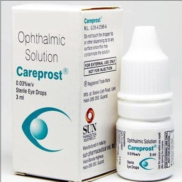 Careprost Bimatoprost Ophthalmic solution 3ml per bottle σε Agía Marína