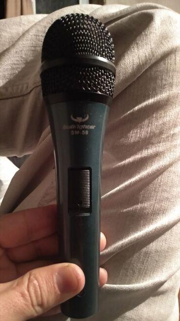 6172 объявлений: Микрофон в отличном состоянии всего за тысячу сомов. Динамический
