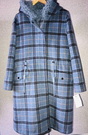 Пальто - Размер: M - Бишкек: Продаю парку из кашемира. Подклад снимается. Можно носить отдельно в