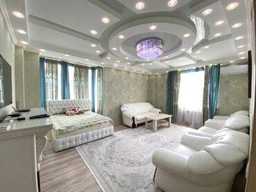 Продажа квартир - Жженый кирпич - Бишкек: Элитка, 2 комнаты, 85 кв. м Бронированные двери, Видеонаблюдение, Дизайнерский ремонт