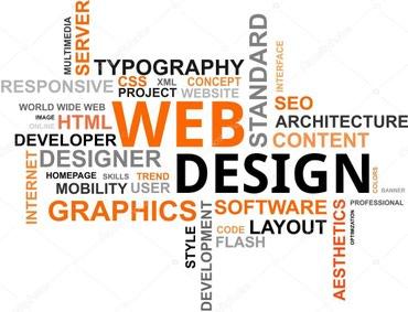 верстка веб сайтов, дизайн, поддержка в Бишкек