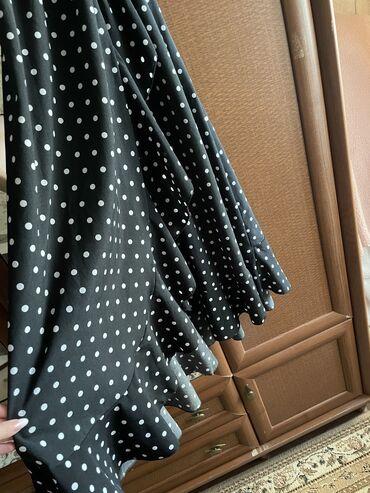 спортивное платье с фатином in Кыргызстан | ПЛАТЬЯ: Платье с запАхом размер S-M