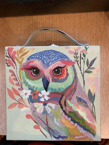 Damelka.art.bags деревянная, красивая сумочка