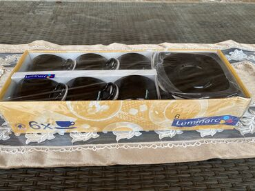 защитное стекло lenovo в Азербайджан: 6 nəfərlik çay dəsti ( fincan ) Luminarc «Quadrato»Чайный сервиз (
