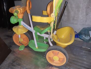 36 объявлений: Продаю деткий трехколесный велосипед 1.5-4 года. Полностью рабочий. В
