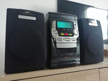 Grundig - Srbija: Muzička linija GRUNDIG UMS 11. Linija ima radio FM, cd