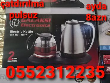 10223 elan   MƏTBƏX TEXNIKASI: Elektrik çaydan kreditTək şəxsiyyət vəsiqəsi iləÇatdırılma