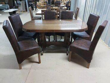10086 oglasa: Sto i stolice u kompletu od 180 do 390e.Dostava na adresu kupca.Boja p