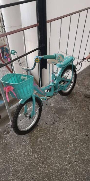 Продаю велосипед детский (Принцесса) Состояние: новое Цвет:Бирюзовый