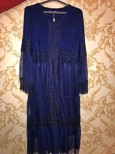женское платье 56 в Кыргызстан: Новые женские платья, размер 52-54 и 56-58. Стоимость 1000сом