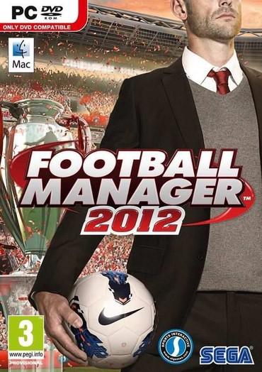 Sales manager - Srbija: FOOTBALL MANAGER 2012PRODAJEMO IGRICU IZ NASLOVAIgrica je nova