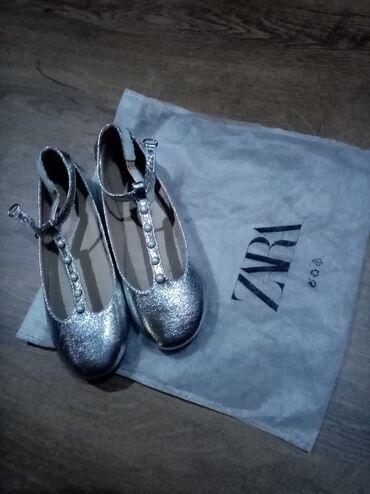 Dečija odeća i obuća - Nova Pazova: Zara baletanke jednom obuvene bez ikakvih tragova nošenja br 32